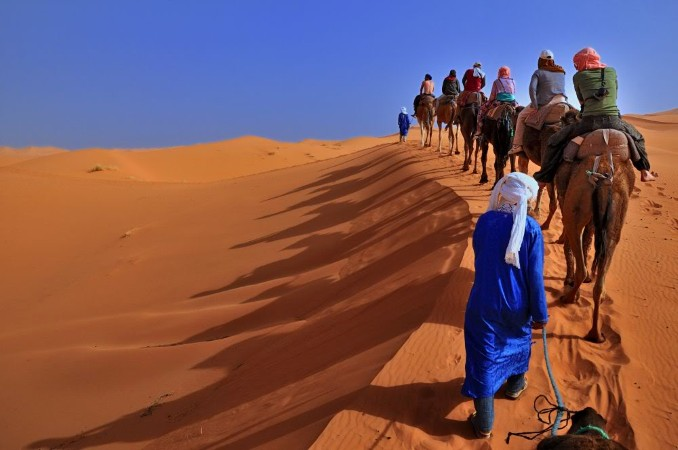 The cities of Midelt, Errachidia are at the gates Merzouga dunes