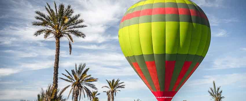 Fly Marrakech aboard a hot-air balloon